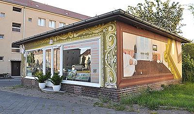 Die Galerie an der Tabaksmühle 1b in Leipzig